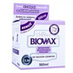 Analiza maski Biovax do włosów ciemnych