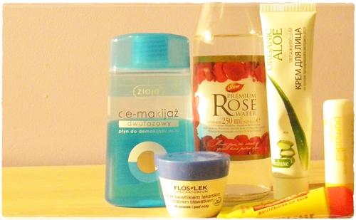 Moje ulubione kosmetyki do pielęgnacji twarzy