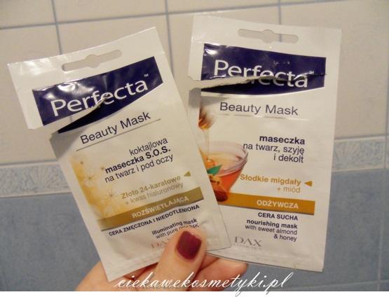 Perfecta, Beauty Mask – odżywcza i rozświetlająca