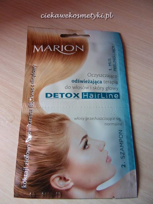 Marion Detox HairLine Oczyszczająco-Odświeżająca terapia do włosów i skóry głowy