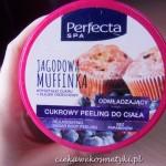 Cukrowy peeling do ciała Jagodowa Muffinka
