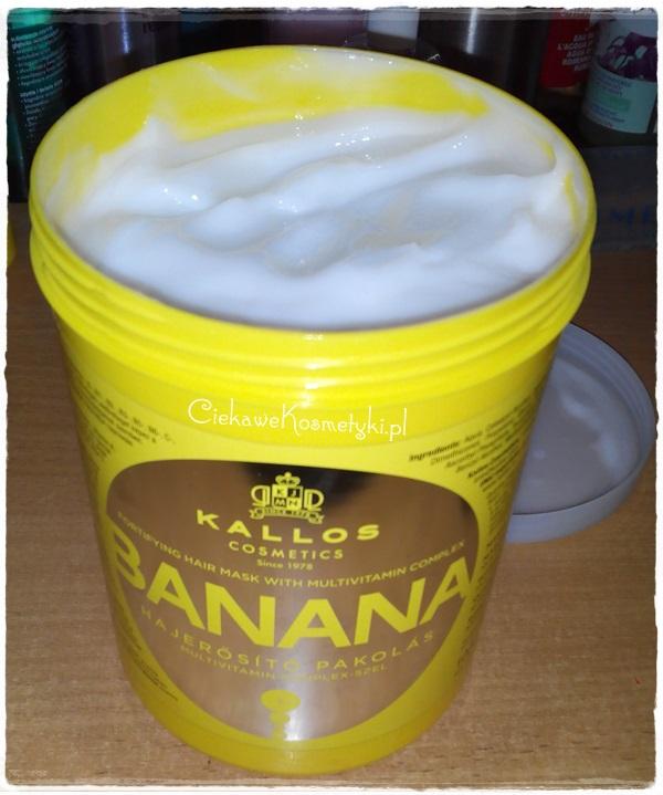 Kallos Banana – maska wzmacniająca włosy