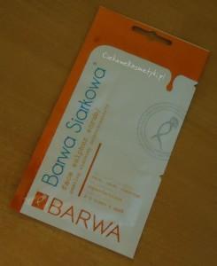 BARWA Maska lub Peeling