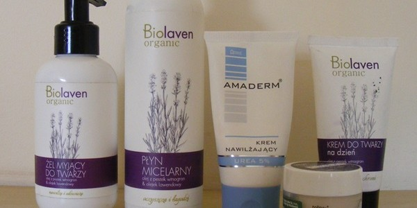 Poranna pielęgnacja twarzy: Amaderm, Biolaven, Tołpa