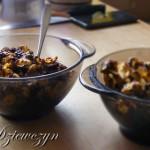 Słodka przekąska: Płatki w czekoladzie