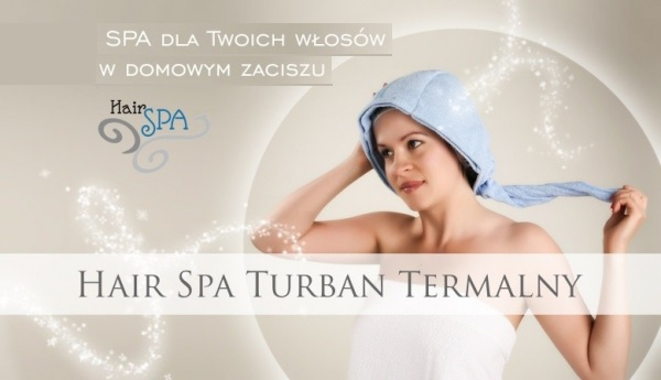 Turban termalny Hair Spa.