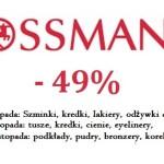 Podkłady, pudry, bronzery, korektory, czyli co warto kupić w promocji -49% w Rossmannie?
