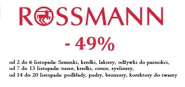 Tusze, cienie, kredki, eyelinery, czyli co warto kupić w promocji -49% w Rossmannie?