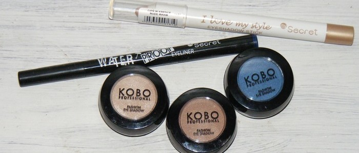 Makijaż z kosmetykami mySecret i Kobo