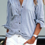 Koszula w paski z Romwe