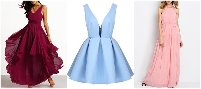 Kolorowe Sukienki SheIn