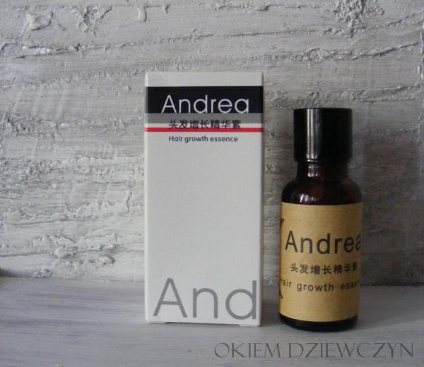 Olejek przyspieszający wzrost włosów Andrea