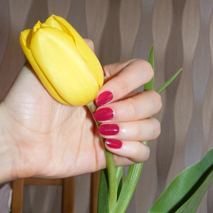 Manicure klasyczny na naturalnej płytce