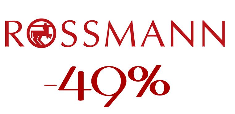 Rossmann promocja -49%