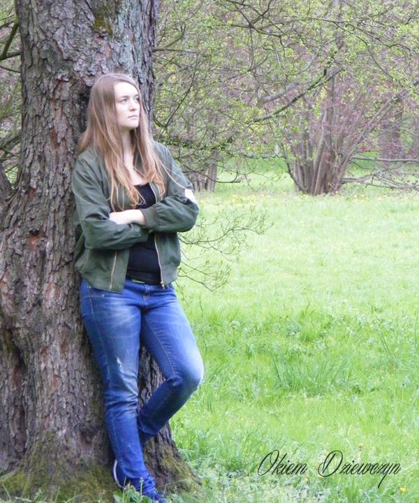 Zielona kurtka z SheIn