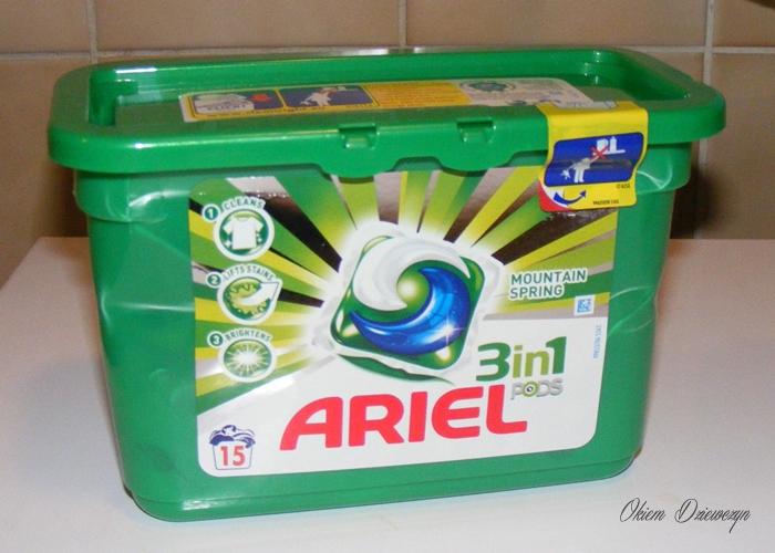 Kapsułki do prania Ariel 3 w 1