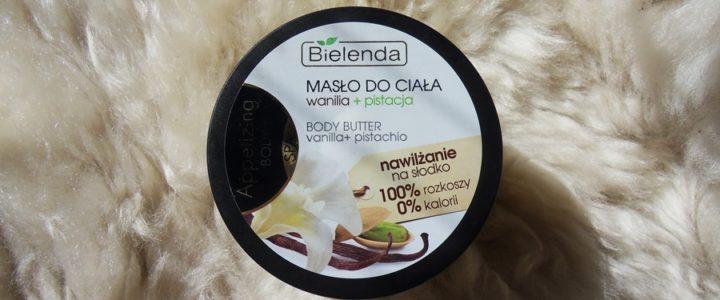 Bielenda, masło do ciała, wanilia i pistacja