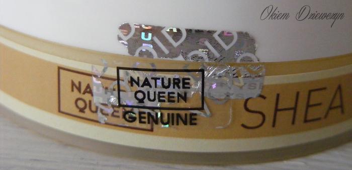 Masło Shea Nature Queen