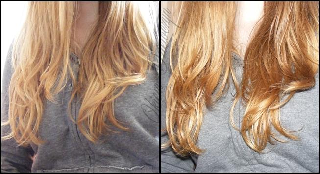 Włosy po nafcie kosmetycznej
