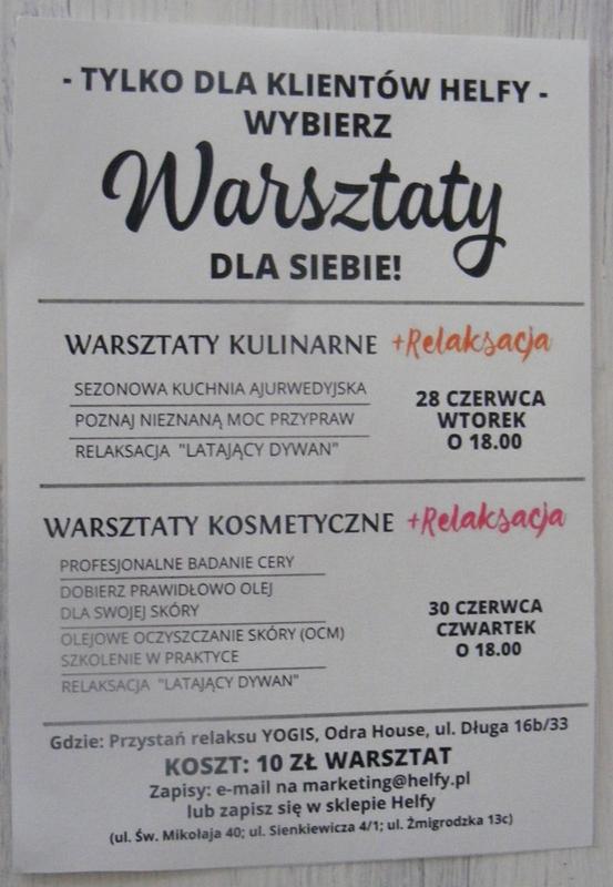 Warsztaty Helfy