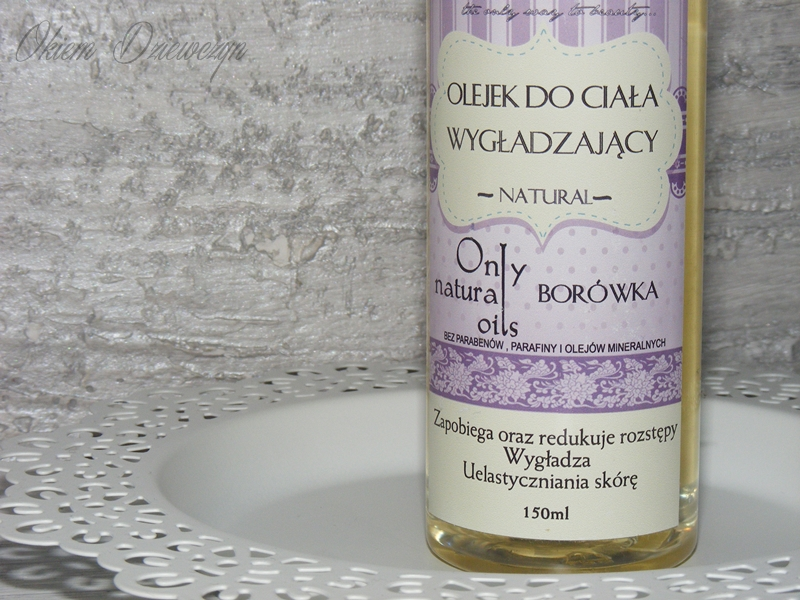 Borówkowy olejek do ciała