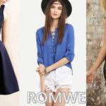 Koszula i sukienki Romwe oraz wishlista z Dresslink