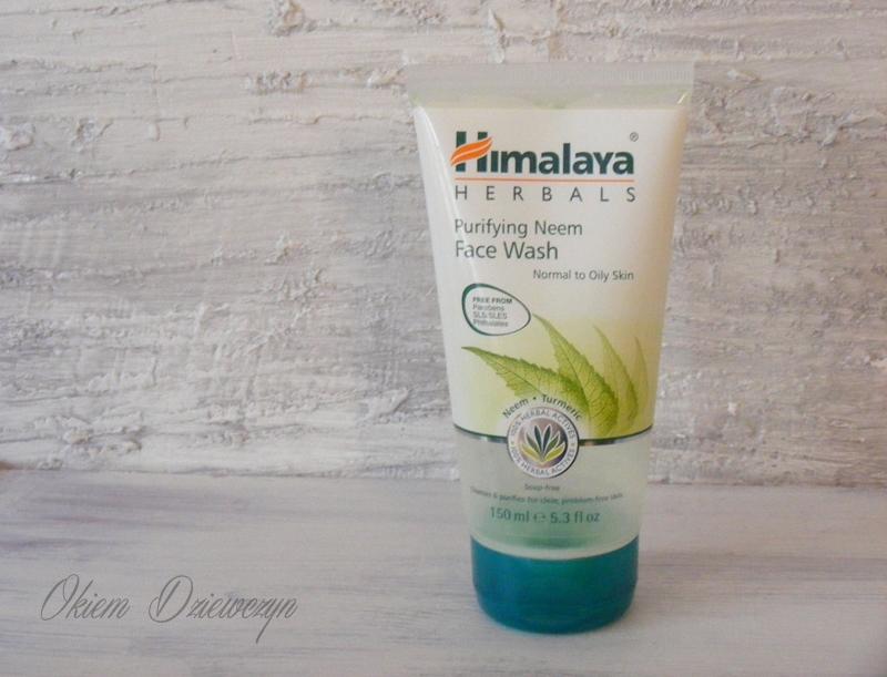 Himalaya Herbals żel oczyszczający do skóry normalnej i mieszanej