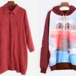 Bluza i sukienka Romwe