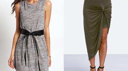 Spódniczka i sukienka – Romwe