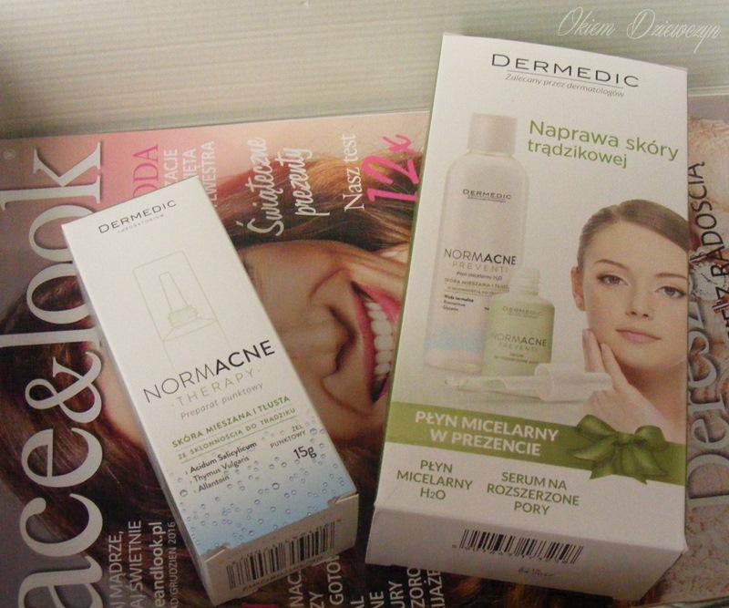 Kosmetyki do cery trądzikowej Dermedic