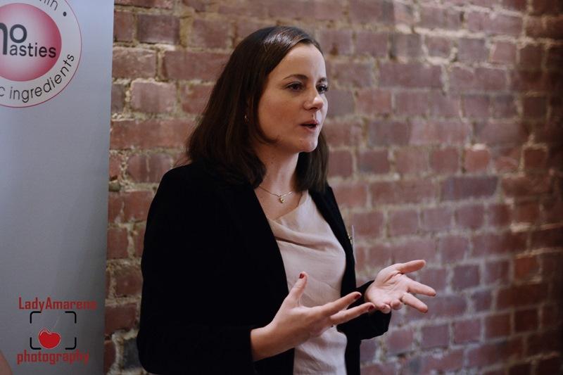 Joanna Bogielczyk podczas prelekcji