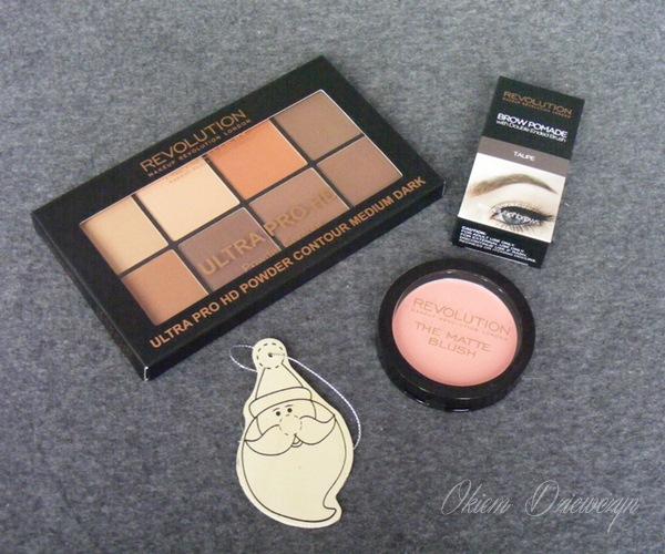 Makeup Revolution - kosmetyki do brwi i twarzy