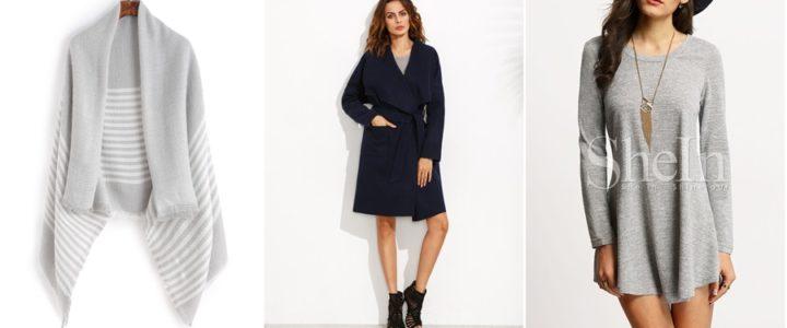 Nowości z SheIn: płaszcz, sukienka i szalik