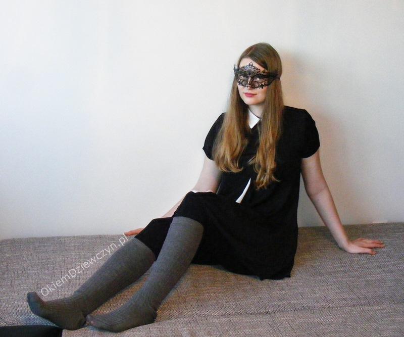 Czarna sukienka SheIn