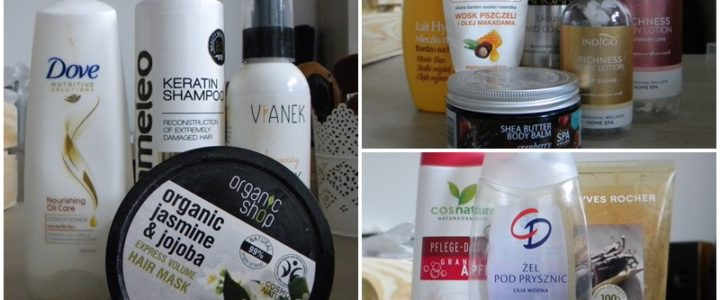 Kosmetyki do włosów i do ciała