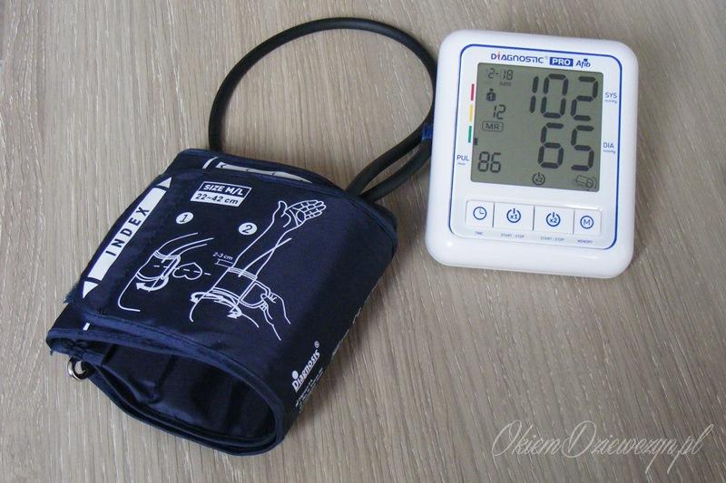 Ciśnieniomierz Diagnosis Pro AFIB wraz z mankietem