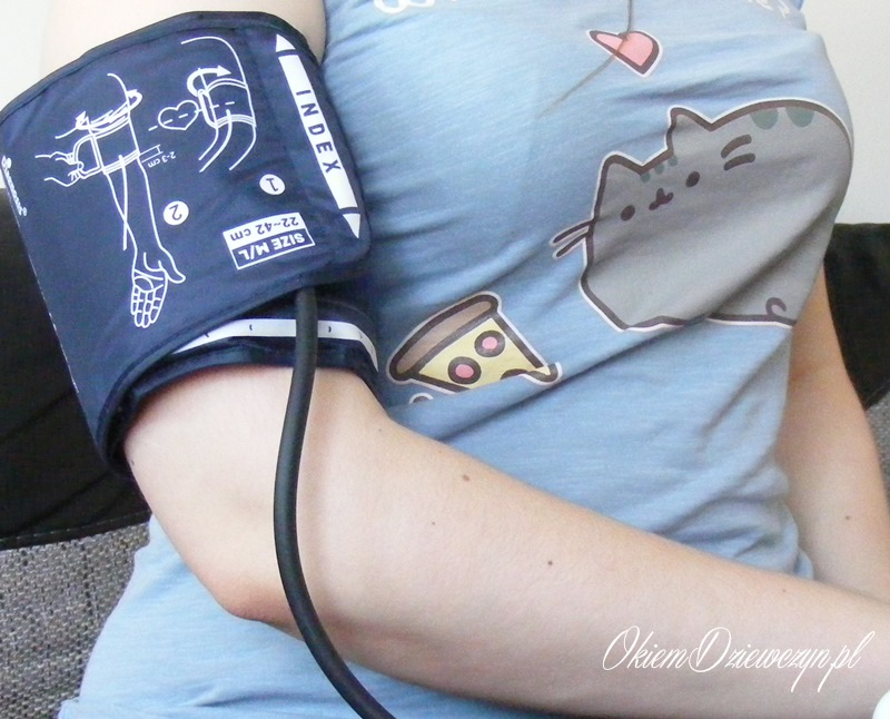 Pomiar ciśnieniomierzem Diagnostic PRO Afib