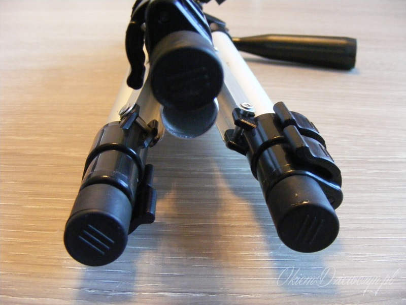 Statyw fotograficzny z gumowymi nóżkami