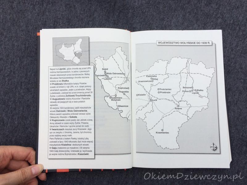 Mapa województwa wołyńskiego
