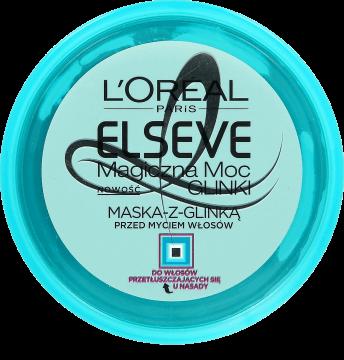 Maska do włosów z glinką L'Oreal