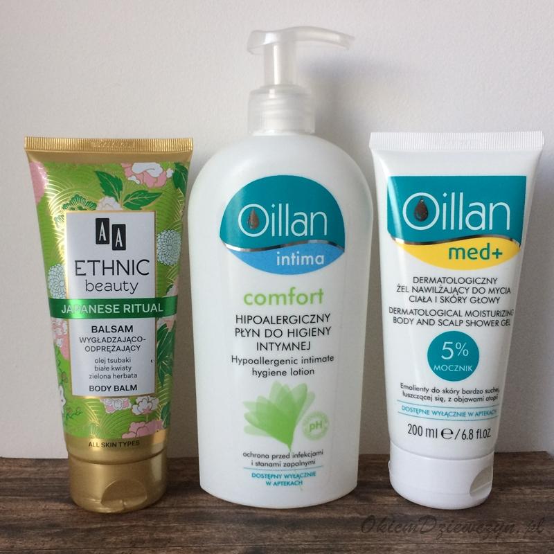 Kosmetyki AA i Oillan