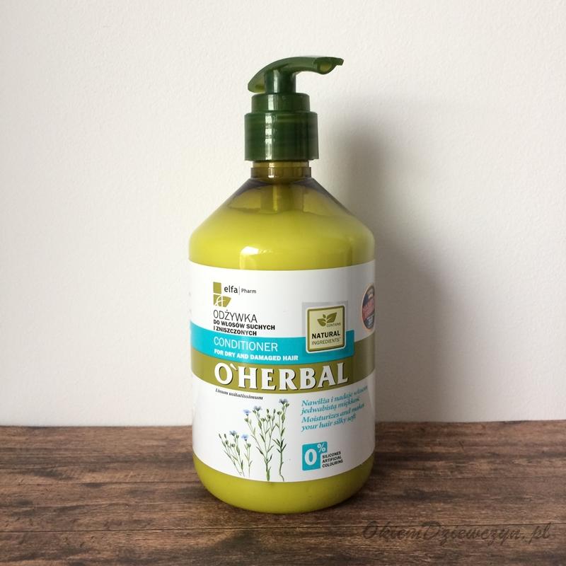 Odżywka do włosów O'herbal