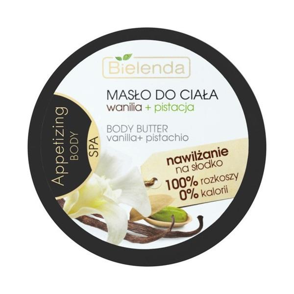 Bielenda, Appetizing Body SPA, Masło do ciała 'Wanilia + pistacja'