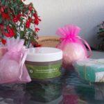 Mydełka do kąpieli, mydełka glicerynowe oraz błotna maska CosmoSPA