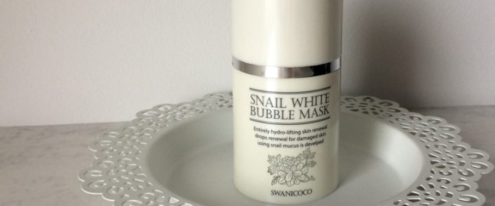 Swanicoco Snail White Bubble Mask