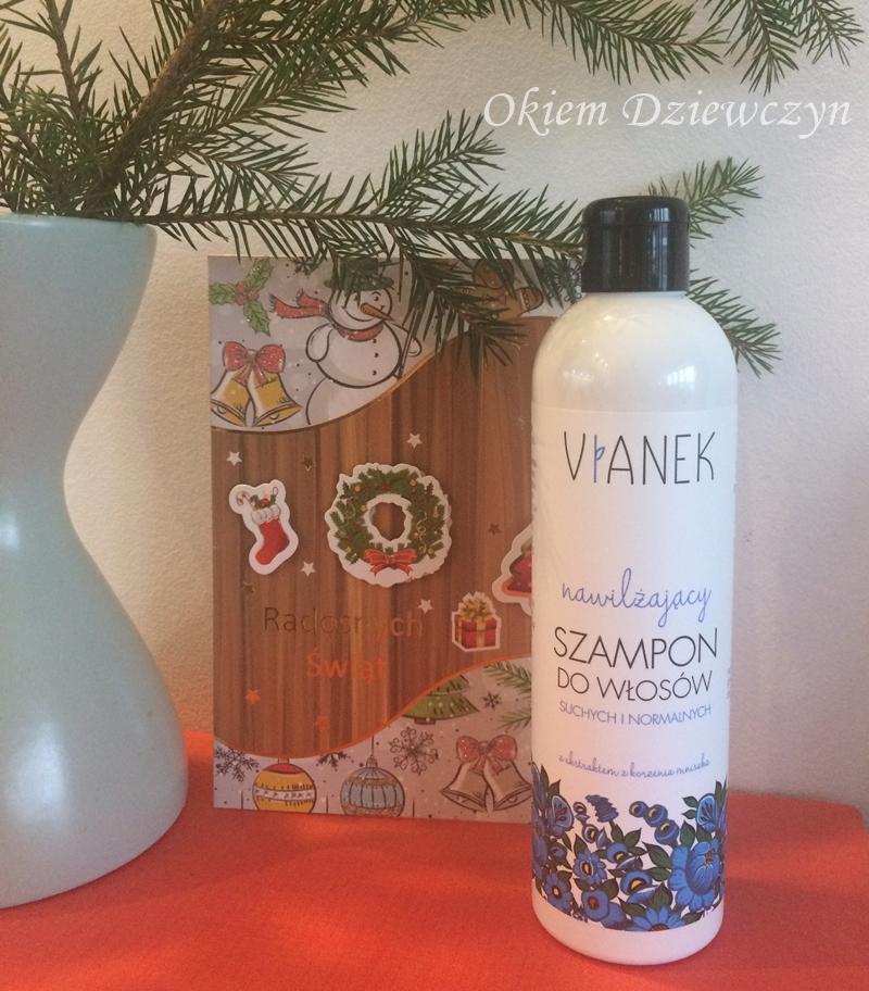 Nawilżający szampon do włosów suchych i normalnych Vianek
