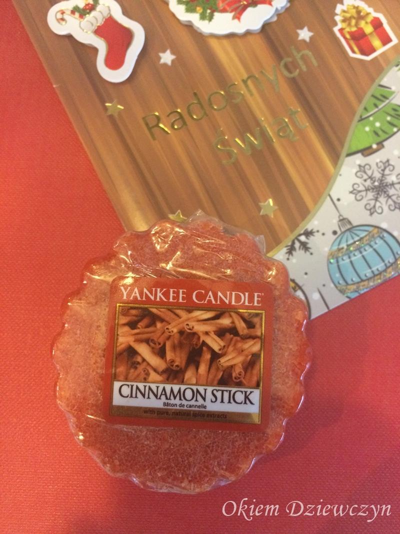 Wosk Yankee Candle Cinamon Stick