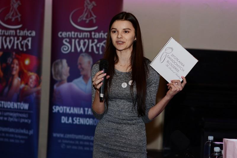 Izabela Kornet, organizatorka spotkania.