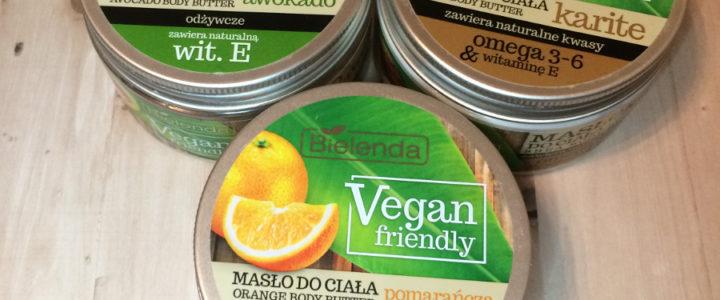 Masła do ciała Bielenda Vegan friendly | awokado, karite, pomarańcza