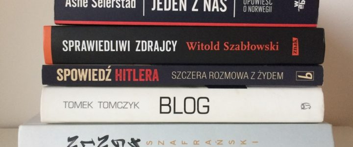 Najlepsze książki 2017 roku.